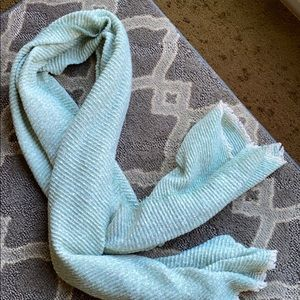 Large mint green scarf/wrap. Like new